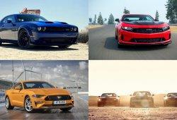 Mustang vs Camaro vs Challenger: las nuevas gamas 2019 continúan la lucha