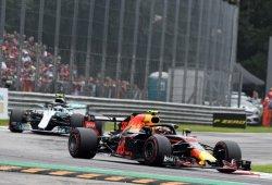 Max Verstappen no cree justa la sanción por chocar con Bottas