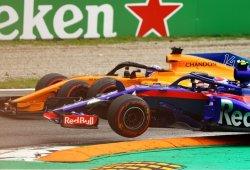 """Gasly: """"Alonso me sacó de la pista, no le gustamos por el motor Honda"""""""