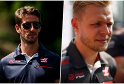 Grosjean y Magnussen, pilotos de Haas también para 2019