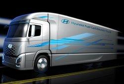 Hyundai lanzará en 2019 un camión propulsado por hidrógeno