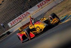 Hunter-Reay, en la pole 81 carreras después tras batir a Dixon