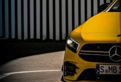 Mercedes-AMG nos muestra el nuevo A 35 4MATIC... a medias