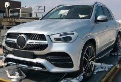 El nuevo Mercedes Clase GLE, casi al desnudo, en estas nuevas fotos espía