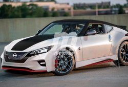 LEAF Coupé Nismo, un adelanto del futuro deportivo eléctrico de Nissan