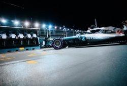 Sin pilotos sancionados, así queda la parrilla del GP de Singapur