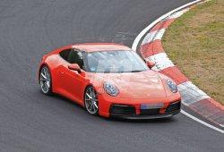 El Porsche 911 Carrera llega prácticamente desnudo a Nürburgring