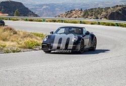 El nuevo Porsche 911 Turbo Cabriolet ya rueda descapotado