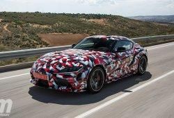 Prueba Toyota Supra A90 prototipo: la vuelta del mito es inminente