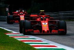 Raikkonen deja sin pole a Hamilton y Vettel