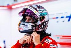 """Vettel resta importancia a su toque con el muro: """"No es ningún drama"""""""