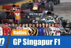 [Vídeo] La radio de los pilotos en el GP de Singapur de F1 2018
