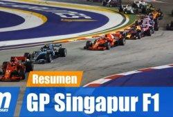 [Vídeo] Resumen del GP de Singapur de F1 2018