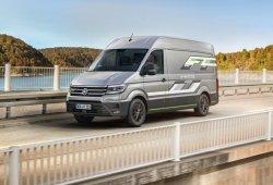 Volkswagen presenta tres conceptos de eléctricos basados en los Crafter, Caddy y Transporter