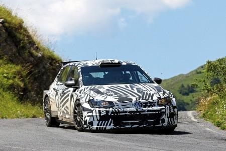 Eric Camilli lidera el debut del Volkswagen Polo GTI R5