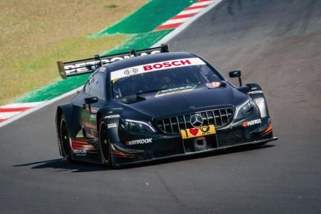 Ogier sorprendió a Mercedes en el único test con su DTM