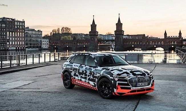 Audi e-tron quattro - adelanto