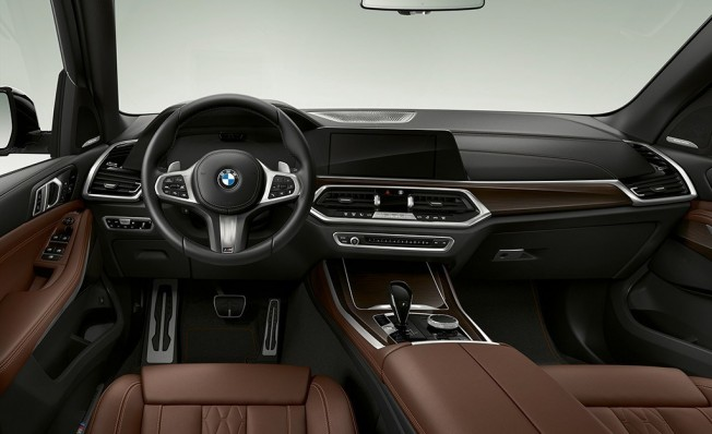 BMW X5 xDrive45e iPerformance - interior
