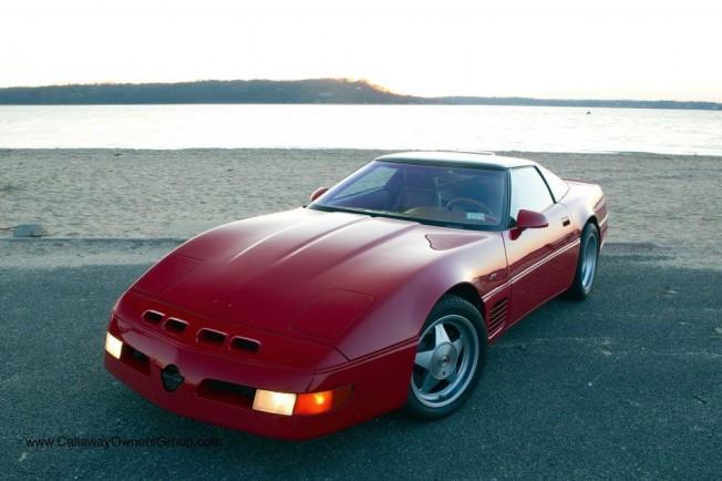 Uno De Los Rarsimos Corvette Callaway Supernatural Cr 1 A La Venta