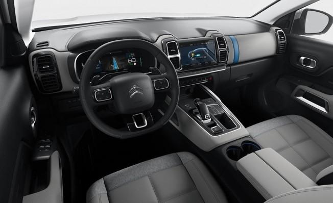 Citroën C5 Aircross Hybrid Concept - interior