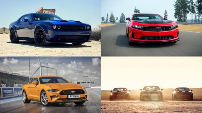 Mustang Vs Camaro Vs Challenger Las Nuevas Gamas 2019 Continuan La