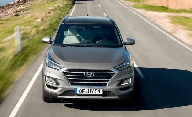 Hyundai Tucson 2019 - frontal