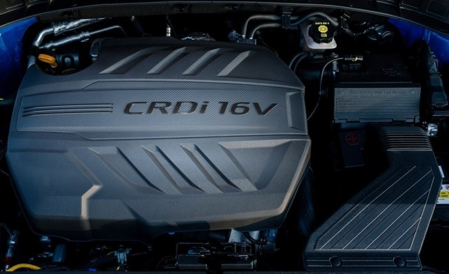 Hyundai Tucson 2019 - motor diésel CRDi 16v