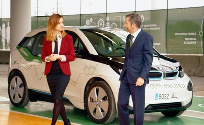 El car sharing de Iberdrola con coches eléctricos