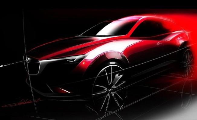 Mazda CX-3 - boceto