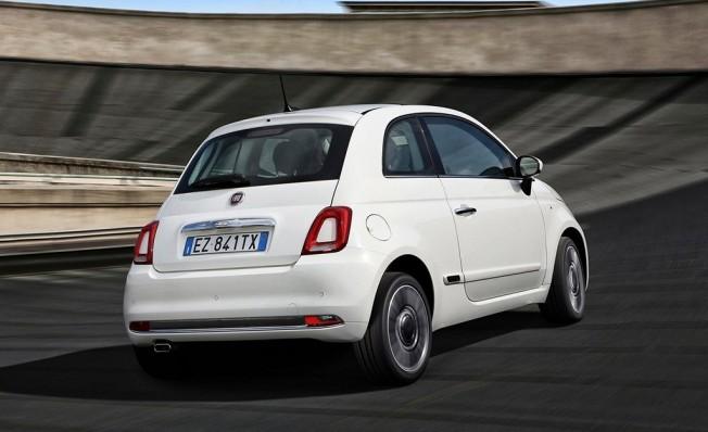 Fiat 500 - posterior