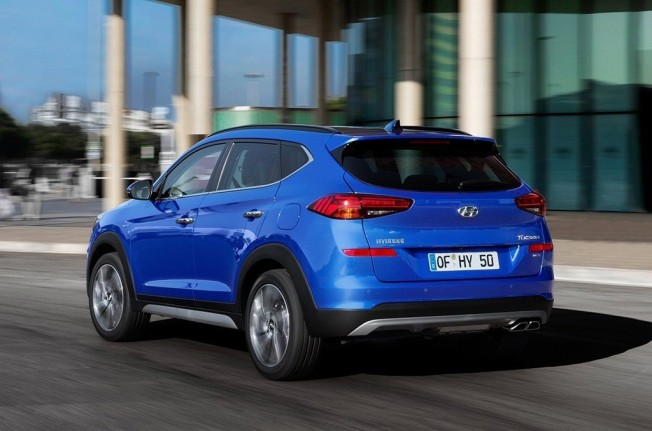 Hyundai Tucson 2019 - posterior