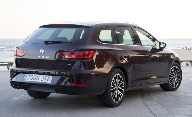 SEAT León ST - posterior