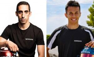 Buemi y Albon, pilotos de Nissan en la Fórmula E