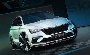 Skoda detalla la mecánica electrificada del nuevo Vision RS
