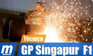 [Vídeo] F1 2018: análisis técnico del GP de Singapur