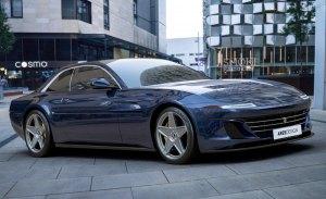 Primeras imágenes del Ferrari 412 de Ares Design en su formato definitivo