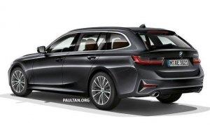 El nuevo BMW Serie 3 Touring será presentado en Ginebra 2019