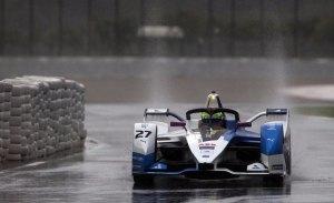 La lluvia no frena a BMW en el cierre del test de Fórmula E