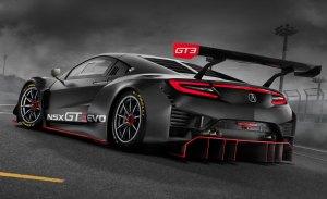 También habrá una evolución del Honda NSX GT3 en 2019