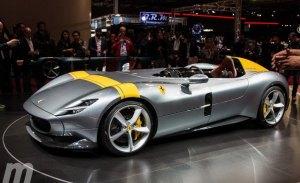Los espectaculares Ferrari Monza SP en vivo desde el Salón de París