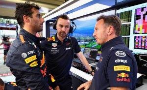 """Horner, sobre la frustración de Ricciardo: """"Ha atravesado la pared con el puño"""""""