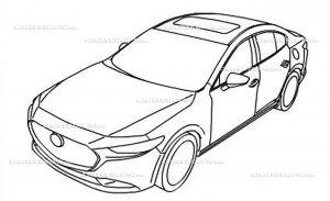 El nuevo Mazda3 2019 filtrado al completo en estos bocetos oficiales
