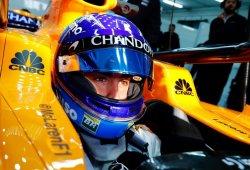 Alonso propone una cámara en el casco para Austin, la FOM la rechaza