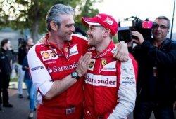 "Arrivabene: ""Tarde o temprano, Vettel será campeón con Ferrari"""