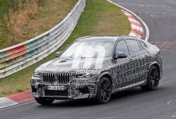 La nueva generación del BMW X6 M se enfrenta a Nürburgring