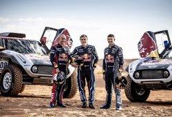 Sainz, Despres y Peterhansel, con Mini X-Raid al Dakar 2019