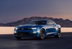 Chevrolet Camaro eCOPO concept: el primer Camaro eléctrico es un drag racer