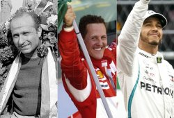 Hamilton vs. Fangio vs. Schumacher: comparativa de pentacampeones