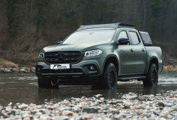 Gruma hace del Mercedes Clase X un pick-up de referencia para el sector cinegético