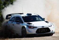 El Hyundai i20 WRC Coupé trae novedades al Rally RACC